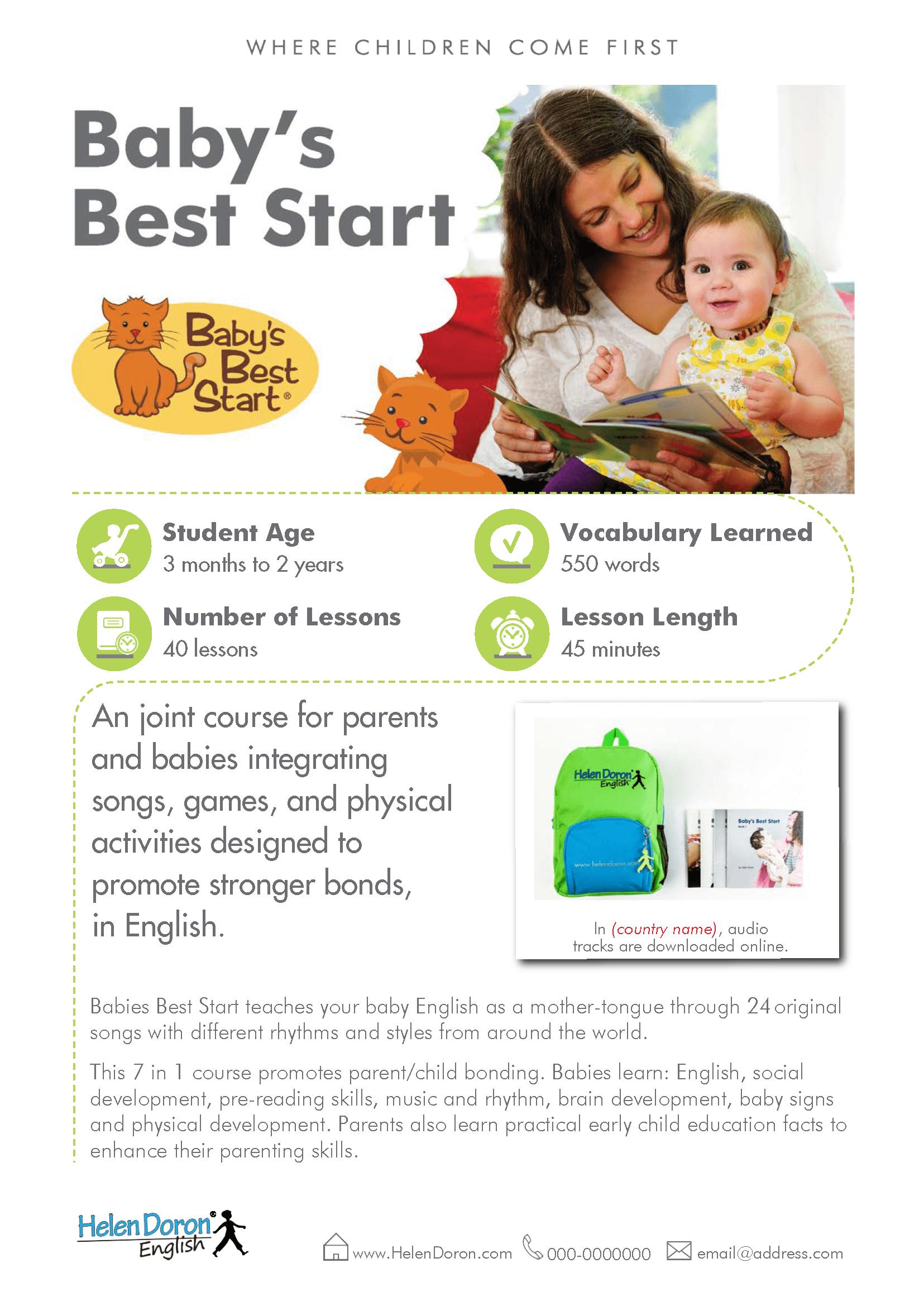Preuzmi - Baby's Best Start