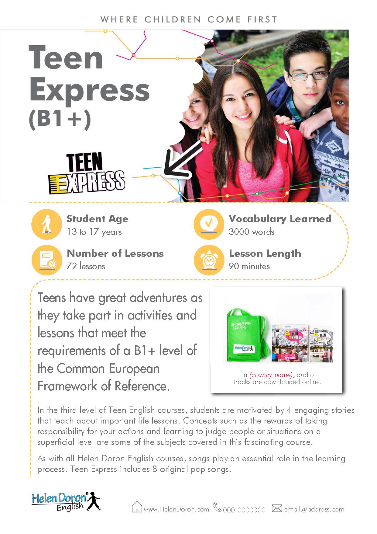 Preuzmi - Teen Express (B1+)